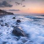 Coastal shots of Santorini island in Greece — Stock Photo #71082473