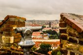 Fog and Roofs of Prague — Stock Photo