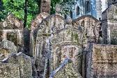Old Jewish Cemetery in Prague — Stock Photo