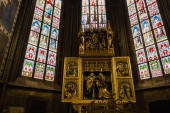 Decal of St. Vitus Cathedral in Prague — Stockfoto