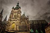 在布拉格圣维特大教堂 — 图库照片