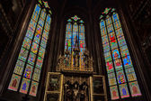 Decal of St. Vitus Cathedral in Prague — Foto de Stock