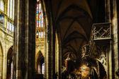 сэйнт витус собора интерьеры — Стоковое фото
