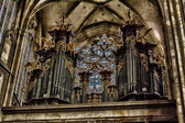 Altar catedral de saint vitus — Fotografia Stock