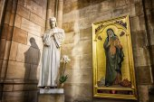 Saint Vitus Cathedral art — Stock Photo
