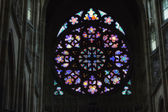 Rosette decal of St. Vitus Cathedral in Prague — Foto Stock