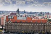 Prague: buildings and architecture details — Stock Photo