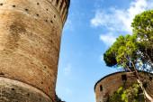 Venetians medieval  Fortress in Brisighella — Stock Photo