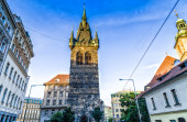 Prague: buildings and architecture details — Stock Photo