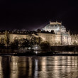 National theatre at night in Prague — Stock Photo #65385261