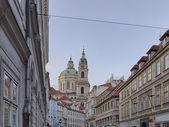 St.Nicholas Church in Mala Strana — Stockfoto