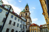 St.Nicholas Church in Mala Strana — Fotografia Stock