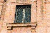 Окно церкви ораторского искусства Xviii века — Стоковое фото