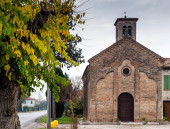 XVI century church in Italy — Stock Photo