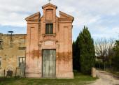 XVIII century oratory church in Italy — Foto de Stock