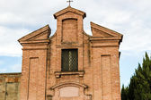 XVIII century oratory church in Italy — Stock Photo
