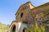 Evocative religiosity of a Romanesque Church — Stock Photo