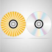 Compact disc — Stock Vector