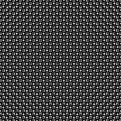 Abstract black and white halftone, which formed a futuristic pattern background — Stock Vector