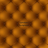 Brown leather upholstery furniture. textured background — 图库矢量图片