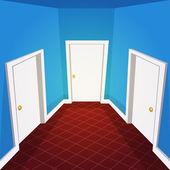 House Hallway — Cтоковый вектор