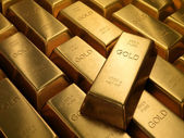Gold Bars 1000 grams — Stock Photo