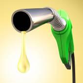 Gasoline Drop — Stock Photo