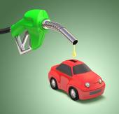 Saving Gasoline — Stock Photo