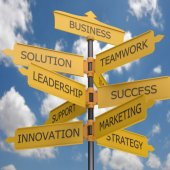 Several avenues for business growth. — Stock Photo