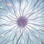Nerve Cell Pulse — Stok fotoğraf