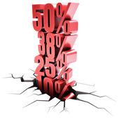 Discount Over Discount — ストック写真