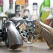 Two weapons with only one bullet eac — Stock Photo #63243285