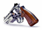 Russian roulette with the bullet out. — Stock Photo