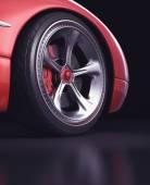 Wheel exclusive design — Stock Photo