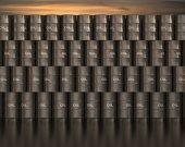 Stacks barrels of oil — Stock Photo