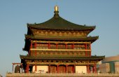 Xi'an, China: C.1384 Bell Tower — Stock Photo