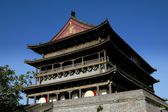 Xi'an, China: The Drum Tower — Stock Photo