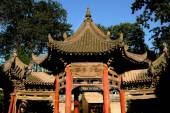 Xi'an, China: Garden Pavilion at Great Mosque — Stock Photo