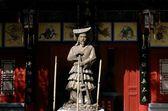 Xi'an, China: Emperor Zhou Statue — Stock Photo