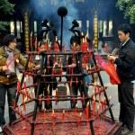 Xindu, China: Bao Guang Buddhist Temple — Stock Photo #51934003