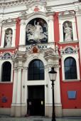 Poznan, Poland: St. Stanislas Church — Stock Photo