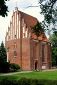 Poznan, Poland: St. Mary's Church — Foto Stock