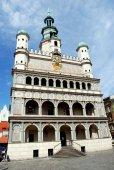 Poznan, Poland: Town Hall — Stock Photo