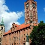 Torun, Poland: Rynek Square and Old Town Hall — Stock Photo #52249347