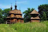 Lublin, Poland:  1759 St.Nicolas Green Orthodox Church — Stock Photo