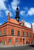 Gdansk, Poland: Renaissance Brick Building — Stock Photo