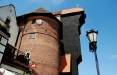 Gdansk,Poland: Medieval Gdansk Crane — Stock Photo