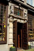 Gdansk, Poland: Ornate Doorway — Stock Photo