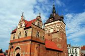 Gdansk, Poland: Prison Tower and Jail — Stockfoto