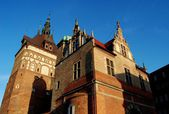 Gdansk, Poland: Prison Tower and Jail — Stock Photo